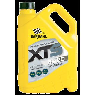 Bardahl XTS 5w20 - 5L - Двигателно Масло