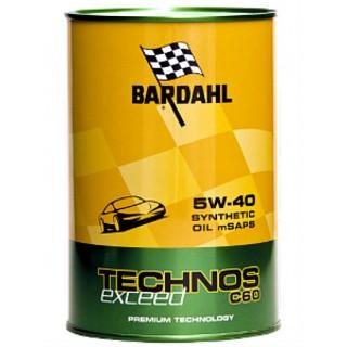 Bardahl Technos C60 Exeed 5w40 1L