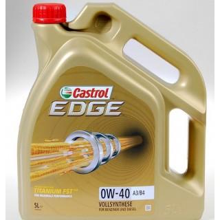 Castrol Edge 0w40 Titanium FST 5L