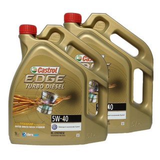 Castrol EDGE Turbo Diesel Titanium 5w-40 2X5L ТОП Цена