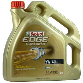 Castrol Edge Turbo Diesel Titanium FST 5w40 4L