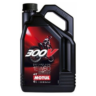 motul 300v 15w60 off road 4l. Black Bedroom Furniture Sets. Home Design Ideas