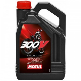 Motul 300v Factory Line Off Road 15w60 4L
