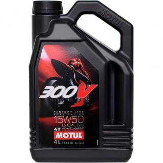 Motul 300v Factory Line 4t 15w50 4L Масло #1 за Мотори