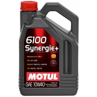 Motul 6100 Synergie+ 10w40 5L на Промо Цена