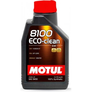 Motul 8100 Eco-Clean 5w30 C2 1L
