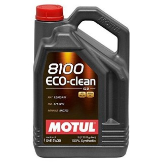 Motul 8100 Eco-Clean 5w30 C2 5L
