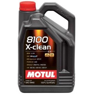 Motul 8100 X-clean 5w40 Масло 5L ТОП цена