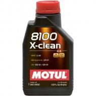 Motul 8100 X-clean 5w30 C3 1L