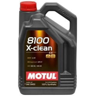 Motul 8100 X-clean+ 5w30 5L+5L