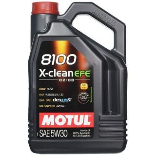Motul 8100 X-clean EFE 5w30 C2/C3 Масло 5L ТОП цена