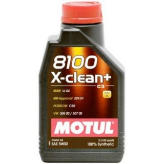 Motul 8100 X-clean+ 5w30 C3 1L