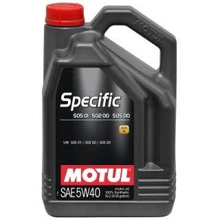 Motul Specific VW 505.01 5w40 5L