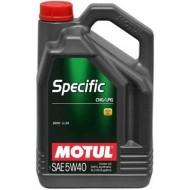 Motul Specific CNG/LPG 5w40 5L