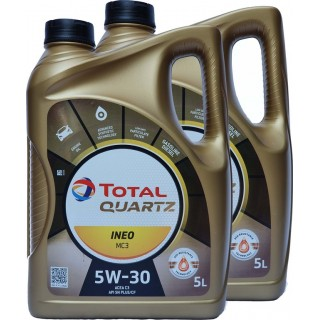 TOTAL Quartz INEO MC3 5w30 2X5L масло с ТОП цена