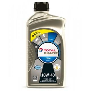 Total Quartz 7000 10w40 Diesel 1L