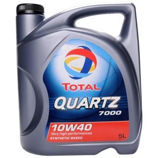 Total Quartz 7000 10w40 5L+5L