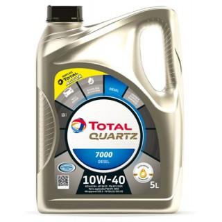 Total Quartz 7000 10w40 Diesel 5L на ТОП Цена