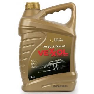 Vexxol 5w30 LL Dexos 2 C3 - 5L- Топ Цена