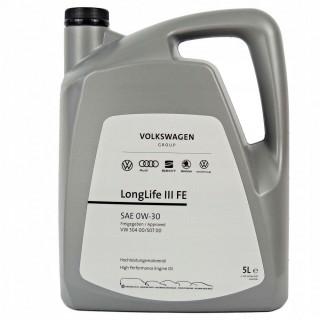 Масло Volkswagen Longlife III FE 0w30 507.00 5L