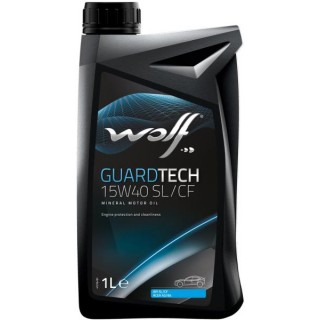 WOLF GUARDTECH 15W40 SL/CF 1L