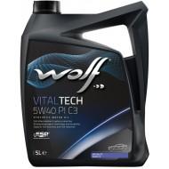 WOLF VITALTECH 5W40 PI C3 5L